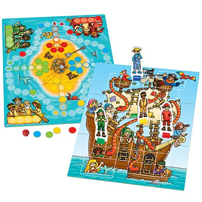 Image 2 of Pirate Snakes & Ladders and Ludo  (£10.99)
