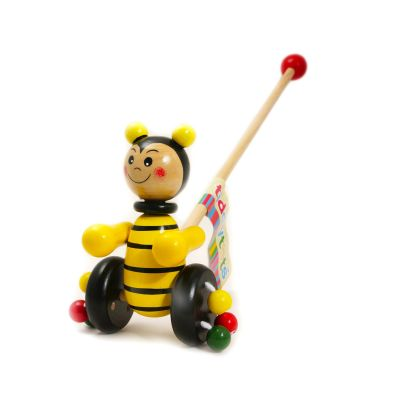 Wooden Bee Push Along (£10.99)