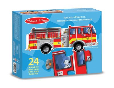 Fire Engine 24 Piece Floor Puzzle - Melissa and Doug (£10.99)