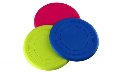 Green Scrunch Frisbee (£3.99)