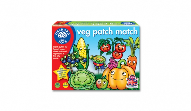 Veg Patch Match Orchard Toys (£8.99)