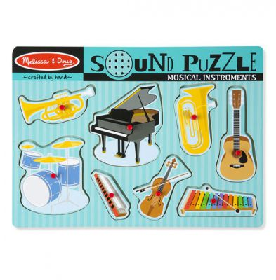 Musical Instruments Sound Puzzle - Melissa and Doug (£11.99)