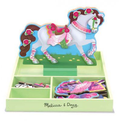 Image 2 of Clover Magnetic Dress Up - Melissa and Doug (£12.99)