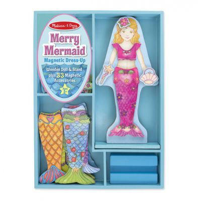Mermaid Magnetic Dress Up - Melissa and Doug (£12.99)