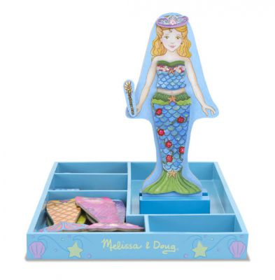 Image 2 of Mermaid Magnetic Dress Up - Melissa and Doug (£12.99)