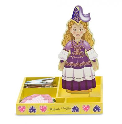 Image 2 of Princess Elise Magnetic Dress Up - Melissa and Doug  (£12.99)
