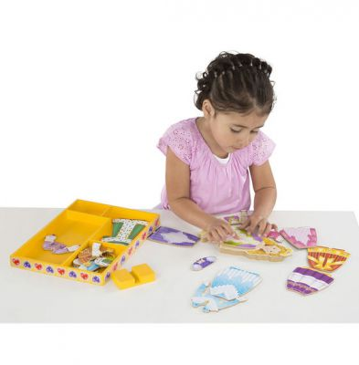Image 4 of Princess Elise Magnetic Dress Up - Melissa and Doug  (£12.99)