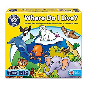Where Do I Live Orchard Toys Game (£10.99)
