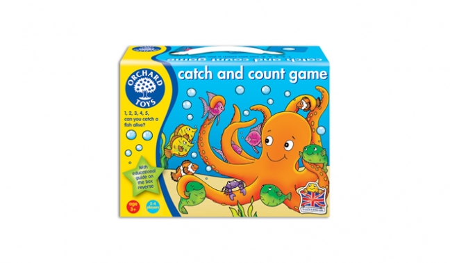 Catch and count game orchard toys game traditional toy for Catch and count fishing game