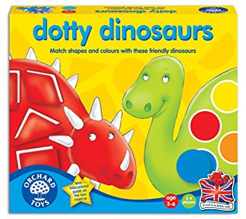 Dotty Dinosaurs Orchard Toys Game (£10.99)