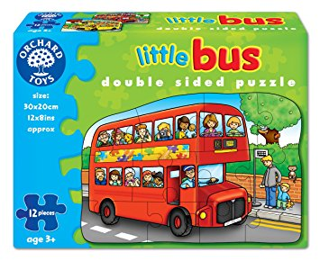Little Bus Double Sided Puzzle Orchard Toys (£6.99)