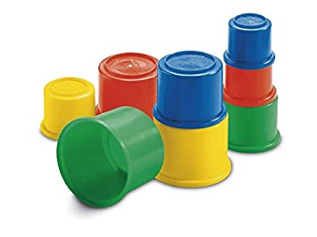 Image 2 of Fisher Price Building Beakers  (£4.99)