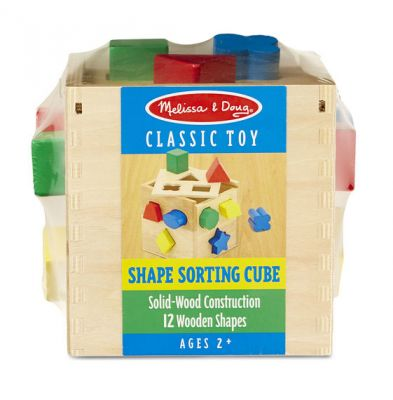 Shape Sorting Cube - Melissa and Doug (£11.99)