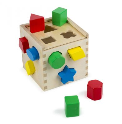 Image 2 of Shape Sorting Cube - Melissa and Doug  (£11.99)