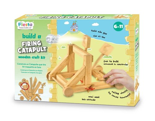 Build a Firing Catapult was £15.99 (£12.99)