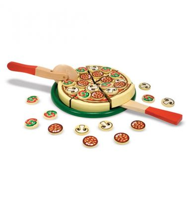 Image 2 of Wooden Pizza Melissa and Doug (£18.99)