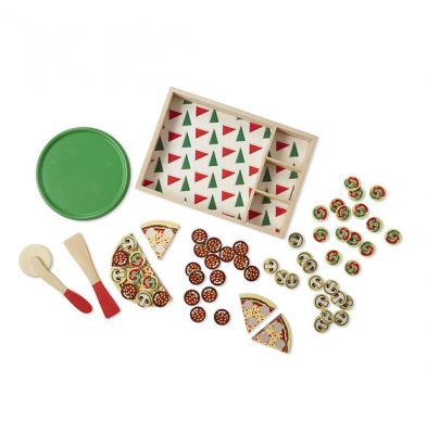 Image 3 of Wooden Pizza Melissa and Doug (£18.99)