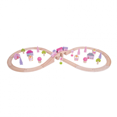 Fairy Figure of Eight Train Set - Bigjigs (£26.99)
