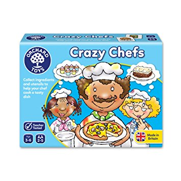 Image 1 of Crazy Chefs - Orchard Toys  (£8.99)