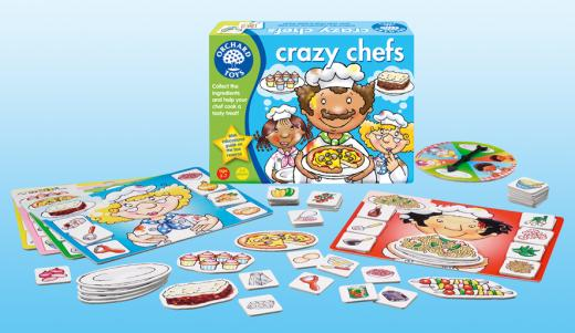 Image 2 of Crazy Chefs - Orchard Toys  (£8.99)