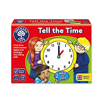 Tell The Time - Orchard Toys (£8.99)