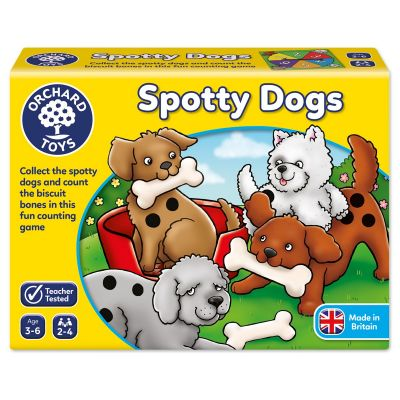 Spotty Dogs - Orchard Toys (£8.99)