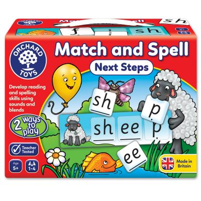 Match and Spell Next Steps - Orchard Toys (£8.99)