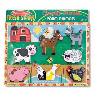 Farm Chunky Puzzle - Melissa and Doug (£10.99)