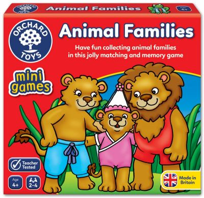 Animal Families - Mini Orchard Game (£4.99)