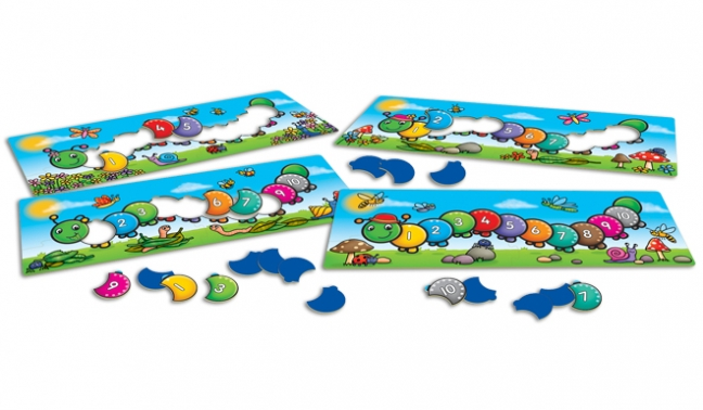 Image 2 of Counting Caterpillars  (£10.99)