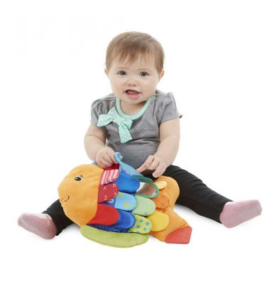 Image 3 of Flip Fish Baby Toy - Melissa and Doug  (£19.99)