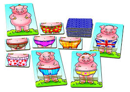 Image 2 of Pigs in Pants - Orchard Toys  (£8.99)