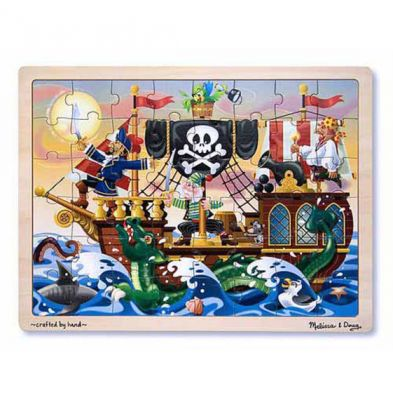 Pirate Adventure Tray Puzzle - Melissa and Doug (£10.99)