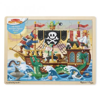 Image 4 of Pirate Adventure Tray Puzzle - Melissa and Doug (£10.99)