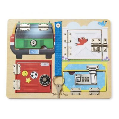 Lock and Latch Board - Melissa and Doug (£19.99)