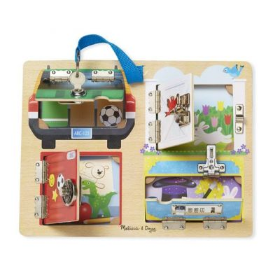Image 2 of Lock and Latch Board - Melissa and Doug  (£19.99)