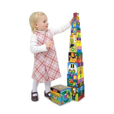 Image 2 of Alphabet Nesting and Stacking Blocks  (£14.99)