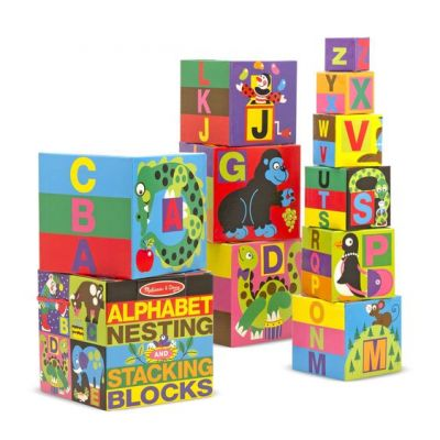Image 4 of Alphabet Nesting and Stacking Blocks  (£14.99)
