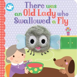 There Was An Old Lady Who Swallowed A Fly Puppet Book (£4.99)