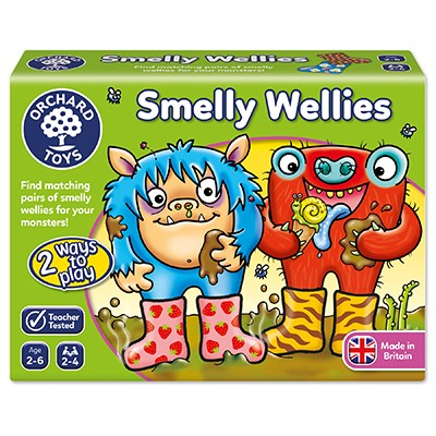 Smelly Wellies - Orchard Toys (£8.99)