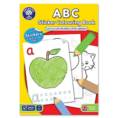 ABC Sticker Colouring Book - Orchard Toys (£3.00)