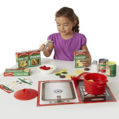 Image 2 of Pasta Role Play - Melissa and Doug  (£19.99)