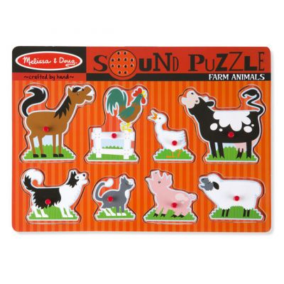 Image 1 of Farm Sound Puzzle - Melissa and Doug  (£12.99)