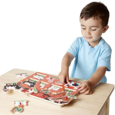 Image 2 of Farm Sound Puzzle - Melissa and Doug  (£12.99)