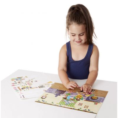 Image 4 of Fairy Reusable Sticker Pad - Melissa and Doug  (£5.75)