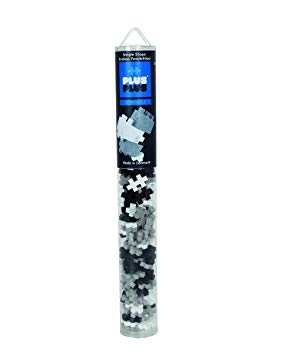 Plus Plus Grayscale Tube 100 pieces (£6.99)