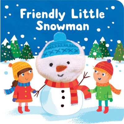 Friendly Little Snowman Puppet Book (£4.99)