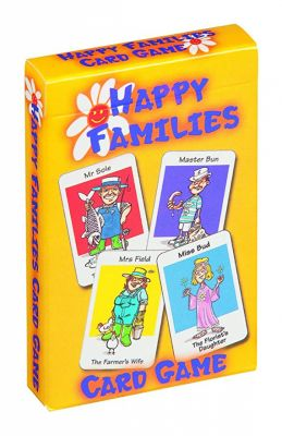 Happy Families Card Game (£1.99)