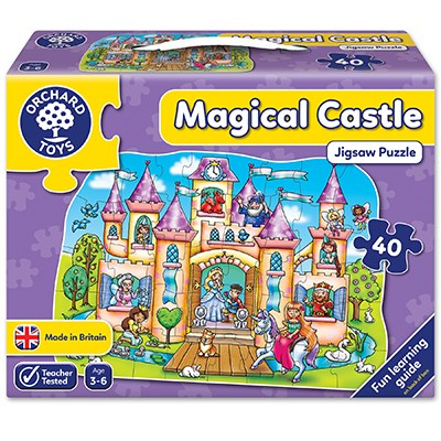Magical Castle Jigsaw Puzzle - Orchard Toys (£12.99)
