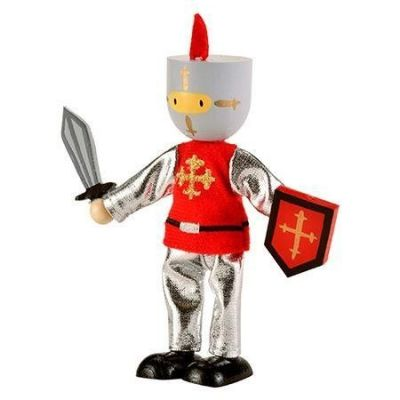 Image 2 of Fiesta Crafts Red Knight Play Figure was £4.99 now £1.99 (£1.99)